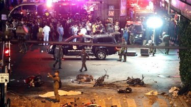 An attack on a shrine in central Bangkok in August 2015  killed 20 people and injured more than 120.