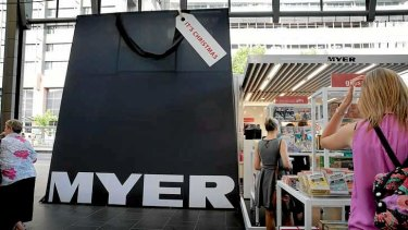 Myer contacted David Jones about a merger last October.