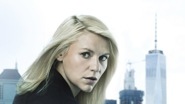 Claire Danes in season six of the high-stakes thriller