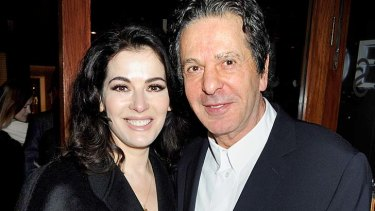 Split: Nigella Lawson and Charles Saatchi.