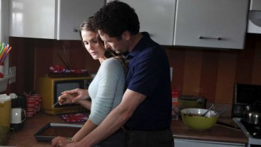 Spies like us: Working together has its moments for agents Elizabeth (Keri Russell) and Philip (Matthew Rhys).