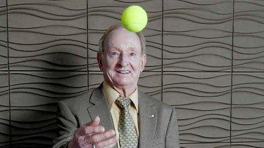 Consummate professional: Australian tennis legend Rod Laver.