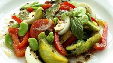 Spring salad.