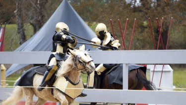 See men horse about rather dangerously in <i>Full Metal Jousting</i>.