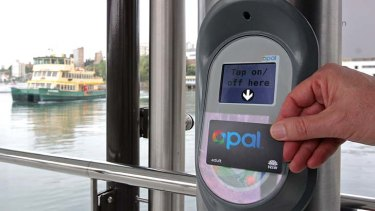 Swipe and save: The Opal card offers significant incentives for commuters.