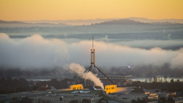 Canberra Times Winter photocomp (2016) - Dylan Valentine Address: 5 Avery Place Fraser ACT 2615 Phone number: 0439394929 Photo information: DSC_0540: Photo title - The early bird gets the worm Description - Got up nice and early to watch the sunrise at the National Arboretum in Canberra. The temperature and the fog meant I had the whole place to myself and as the sun rose above the fog a magpie flew over and sat atop the birds head giving me a great shot. Date taken - 14/06/2016 DSC_0646: Photo title - The house that Romaldo built Description - Witnessing the first rays of light hit Parliament House and the fog rise off Lake Burley Griffin from the top of Red Hill was a great way to start a chilly Canberra day. Date taken - 16/06/2016