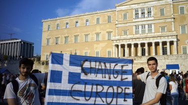 How does the Greek tragedy inform our election debate? Mainly by reminding us that when our politicians predict that the other side will wreck our economy, they don't really mean it.