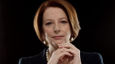 Australia's first female prime minister, Julia Gillard, isn't enough to get TV networks interested.