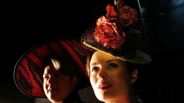 Albert Herring singers Maxine Montgomery (left) who is playing Lady Billows and Victoria Lambourn who plays Florence Pike.