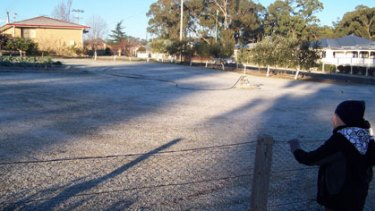 A blanket of frost covered Stanthorpe this morning