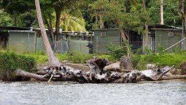 Tensions high: Manus Island.
