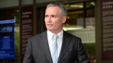 Craig Thomson leaving the Melbourne Magistrates Court last week.