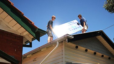 The solar energy industry wants more Government assistance.