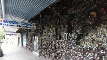Renovators delight? ... The Grotta Capri site Kensington
