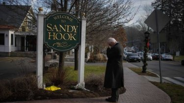 28 children and adults died in the mass shooting at Sandy Hook Elementary in December 2012.