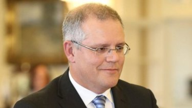 Tipped for an expanded portfolio: Scott Morrison.
