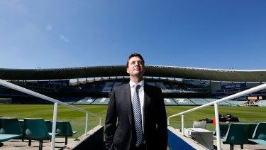 Not happy: Sydney FC chairman Scott Barlow.