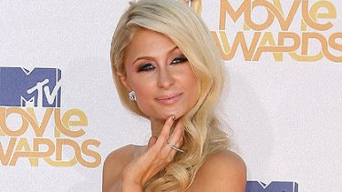 Hotel heiress Paris Hilton is famous for being famous.