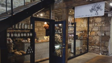 Matthew Evans' Salamanca store.