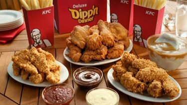 Backdown ... KFC ditches palm oil for a healthier alternative.