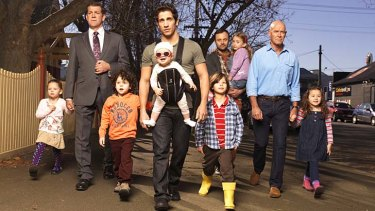 Ratings winner ... House Husbands.