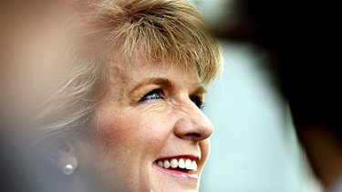 Julie Bishop has stepped down as Opposition treasury spokesperson.