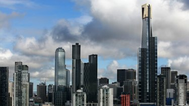Melbourne's central city will have 6,000 new apartments next year.