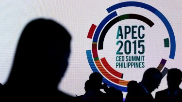 The Asia-Pacific Economic Co-operation (APEC) CEO Summit gets under way in Manila on November 16. With seven months left in office, Philippine President Benigno Aquino is taking measures to strengthen his infrastructure legacy and boost the resilience of one of Asia's fastest-growing economies. Photographer: SeongJoon Cho/Bloomberg