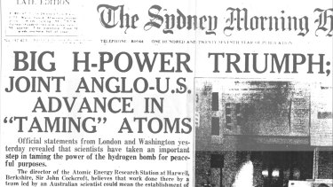 The Sydney Morning Herald's report on the work of Peter Thonemann and his team.