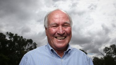 Tony Windsor will face off against Barnaby Joyce at the next election.