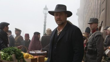 Russell Crowe plays Joshua Connor, a man who goes to Turkey after the war to find the bodies of his three sons.