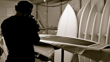 Yahoo Surfboards manager Mark Hills said sales dropped 25 per cent in the month following Dunsborough's fatal attack in in September 2011.