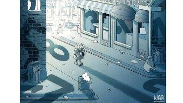 Illustration: Glen Le Lievre.