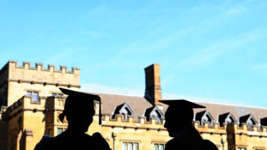 Casting a shadow ... Sydney University, which was ranked 36th in the world last year, dropped to 71st this year under a new ratings system.