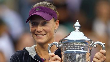 Sam Stosur... the auxiliary benefits of winning the US Open are now starting to flow.