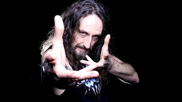 Steve Hughes ... Australia's heavy metal comedian.