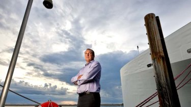 "Austal chief executive Andrew Bellamy: Rust claim is a ""storm in a teacup""."