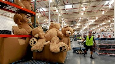 Thinking big: Costco offers bulk discounts, but it can be hard to change shopper habits.