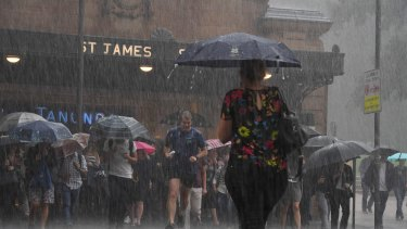 Sydney went from its wettest March since 1975 to its driest April-May in 11 years.