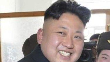 Consolidating power: Kim Jong-un.