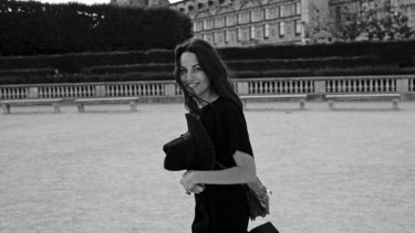 Kym Ellery enjoying her time in Paris.