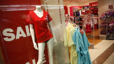 Feeling the hit ... poor retail sales have resulted in fewer hirings.