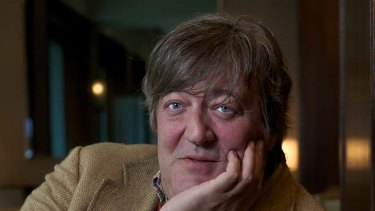 Stephen Fry .. hit out at the BBC's coverage.