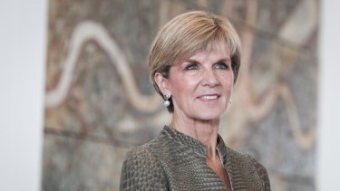 Foreign Minister Julie Bishop hosted the function.