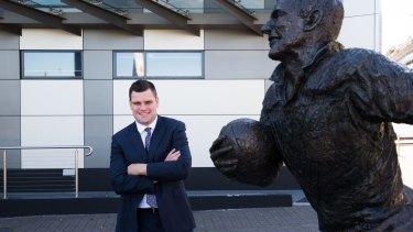 Fresh blood: Penrith Panthers CEO Corey Payne.
