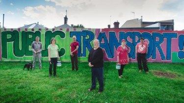 From left: Bill Kay, Cathy Drummond, Andrew Kelly, Keith Fitzgerald, Rosie Elliott, Brendan Lewis.