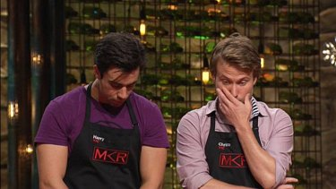 Who do you want to win in the MKR elimination? ... Boys Harry and Christo.