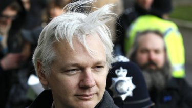 WikiLeaks founder Julian Assange is seeking asylum at the Ecuador embassy in London.