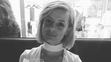 Jess Mudie, 22, victim of the Bourke Street tragedy.