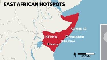 East African hotspots.